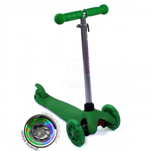 Самокат детский Triumf Active SKL-06AH Mini Up Flash Зеленый