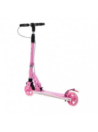 Самокат Micar Galaxy 145 розовый