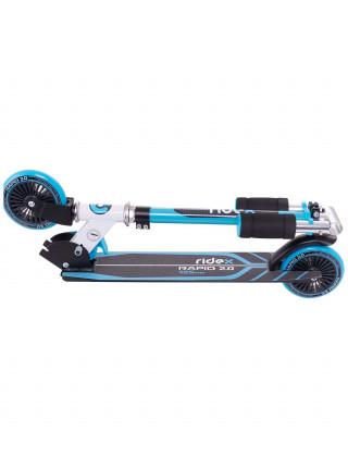 Самокат Ridex Rapid 2.0, 125 мм, синий