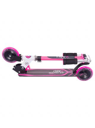 Самокат Ridex Rapid 2.0, 125 мм, розовый