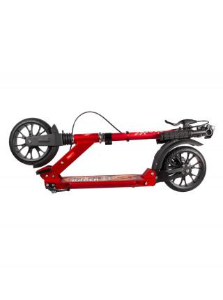 Самокат HELLO WOOD HW Racer Lux красный