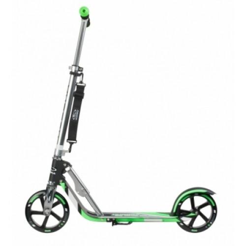 Самокат HUDORA Big Wheel  RX-PRO 205 черно-зеленый