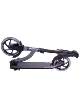 Самокат Ridex Pulse 200/180 мм, серый