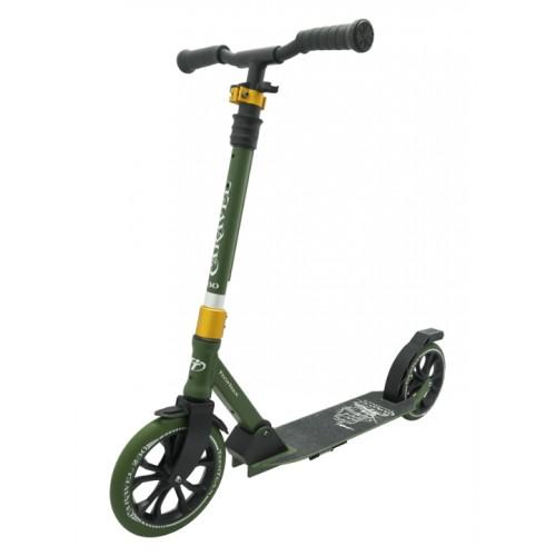 Самокат TechTeam Caravel 230 (2020) зеленый