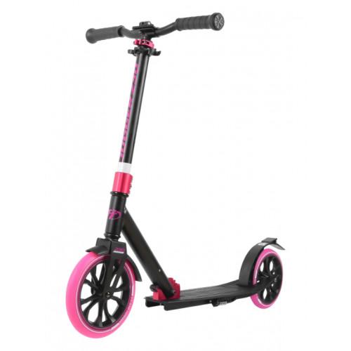 Самокат TechTeam Jogger 230 (2020) черный-розовый