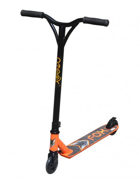 Самокат трюковой ATEOX FOX 2020 черный/оранжевый