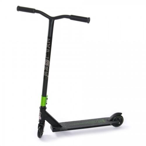 Самокат трюковой EXPLORE FLUBBER SUPER черный/зеленый