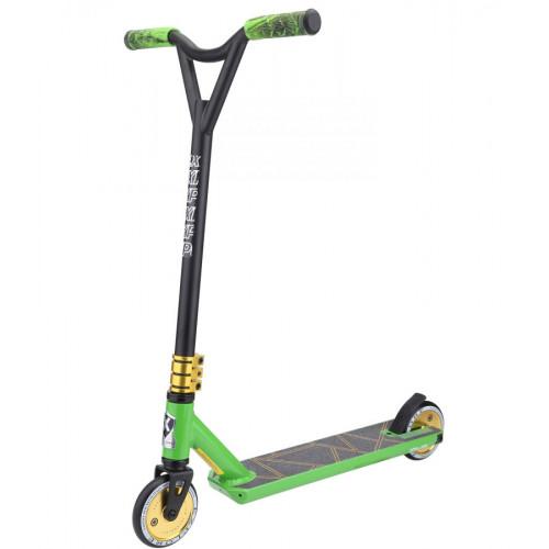 Самокат трюковой EXPLORE LEIDART PRO зеленый