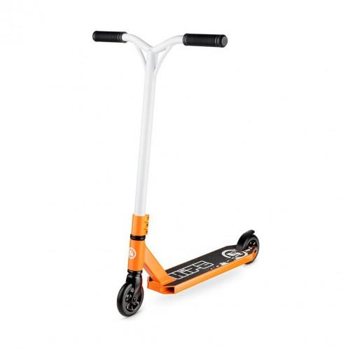 Самокат трюковой HIPE-H3 оранжевый/белый
