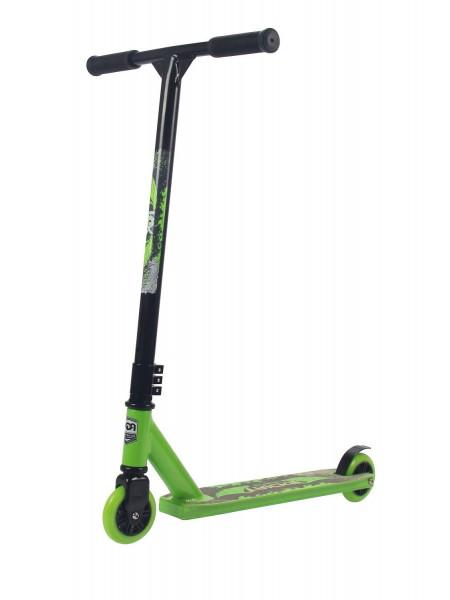 Самокат трюковый RGX TRICKS зеленый