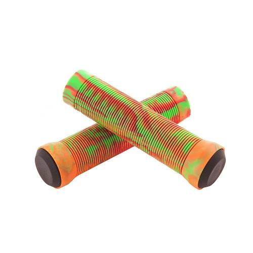 Грипсы S301GP красный/оранжевый/зеленый