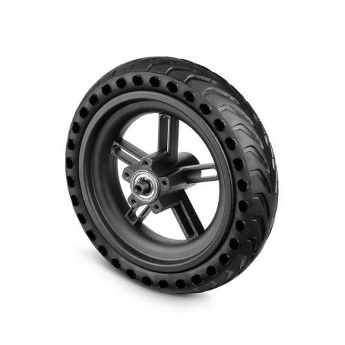 Заднее колесо с бескамерной покрышкой для электрического самоката XIAOMI черное