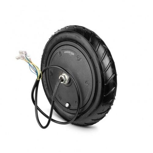 Колесо-мотор с покрышкой в сборе для электрического самоката XIAOMI черный