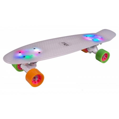 Скейтборд Hudora Retro Rainglow