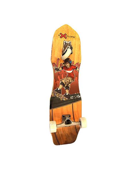 Скейтборд снейкборд EXPLORE CROSSBOARD