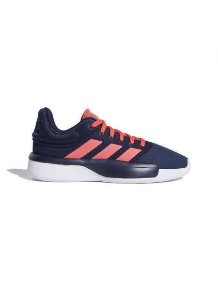 Кроссовки баскетбольные Adidas Pro Adversary Low 2019, темно-синий