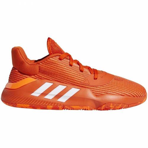 Кроссовки баскетбольные Adidas Pro Bounce Low 2019, оранжевый