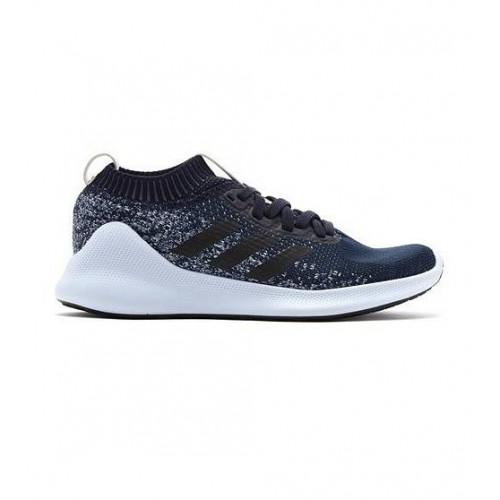 Кроссовки беговые Adidas Purebounce+ (женские), темно-синий