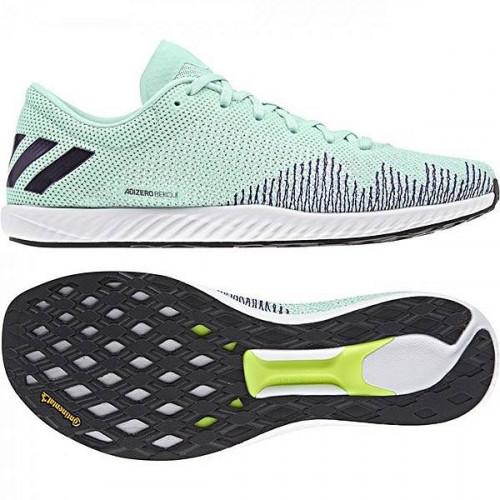 Кроссовки беговые Adidas Adizero Bekoji (женские), зеленый