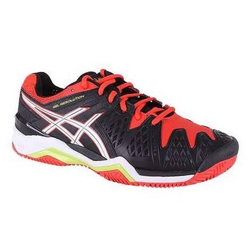 Кроссовки теннисные Asics Gel-Resolution 6 Clay SS15, черный