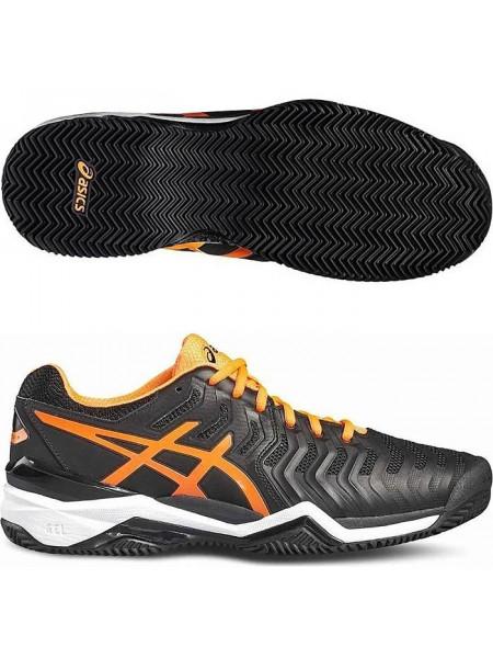 Кроссовки теннисные Asics Gel-Resolution 7 Clay, черный