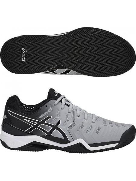 Кроссовки теннисные Asics Gel-Resolution 7 Clay, серый