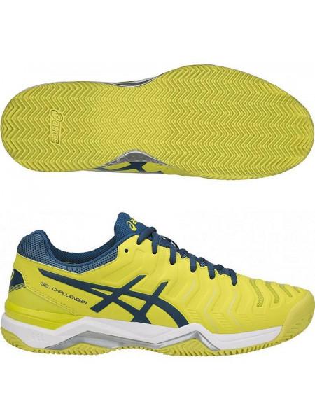 Кроссовки теннисные Asics Gel-Challenger 11 Clay, желтый