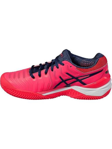 Кроссовки теннисные Asics Gel-Resolution 7 Clay (женские), розовый