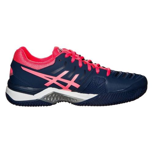 Кроссовки теннисные Asics Gel-Challenger 11 Clay (женские), темно-синий