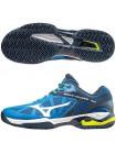 Кроссовки теннисные Mizuno Wave Exceed Tour cc, голубой