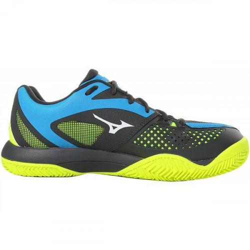 Кроссовки теннисные Mizuno Wave Intense Tour 4 Cc, синий