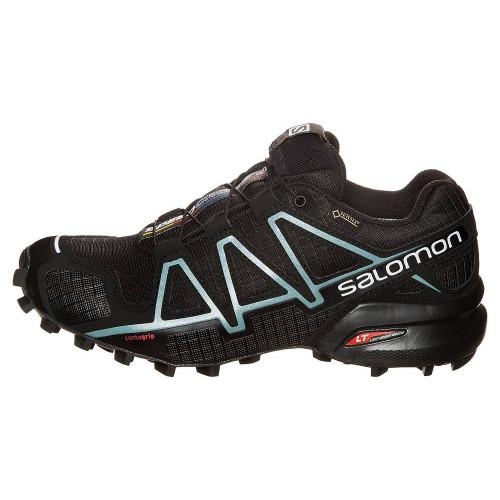 Кроссовки беговые Salomon Speedcross 4 GTX (женские), черный