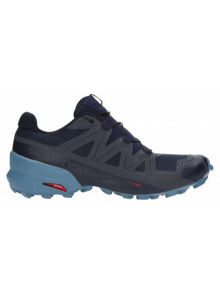Кроссовки беговые Salomon Speedcross 5, темно-синий