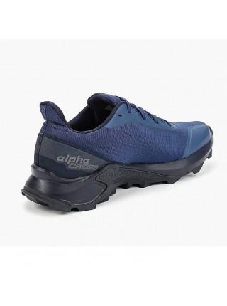 Кроссовки беговые Salomon Alphacross, темно-синий