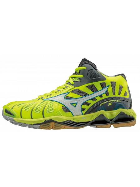 Кроссовки волейбольные Mizuno Wave Tornado X MID, желтый