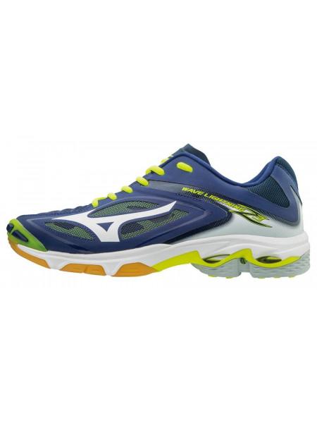Кроссовки волейбольные Mizuno Wave Lightning Z3, темно-синий