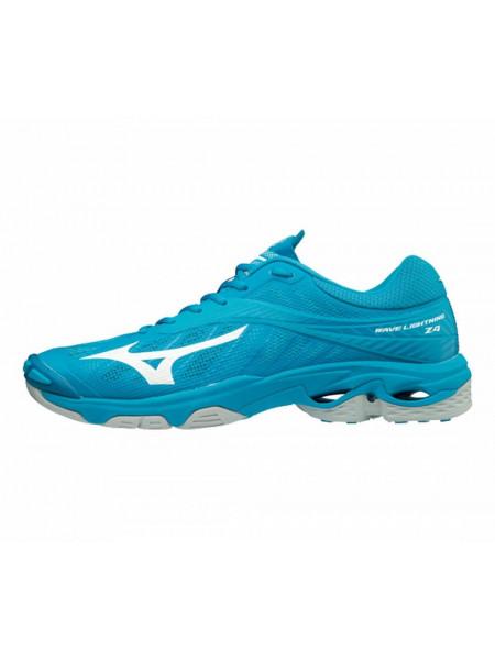 Кроссовки волейбольные Mizuno Wave Lightning Z4, голубой