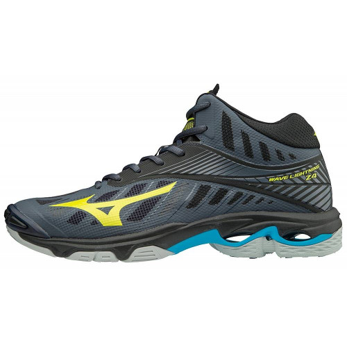 Кроссовки волейбольные Mizuno Wave Lightning Z4 Mid, темно-серый