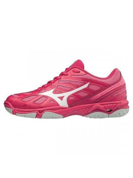 Кроссовки волейбольные Mizuno Wave Hurricane 3 (женские), розовый