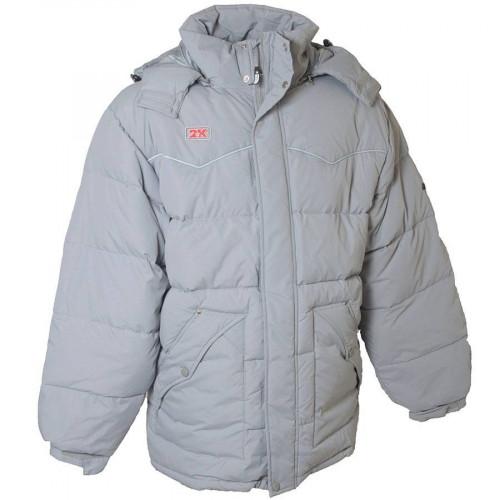 Куртка пуховая 2K Sport Brantford (подростковая), серый