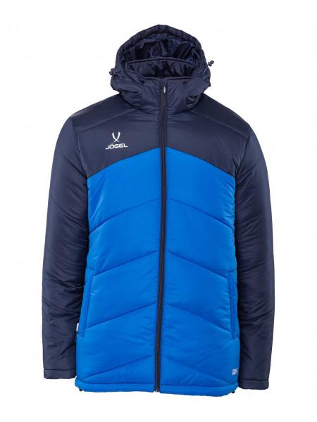 Куртка утеплённая Jögel JPJ-4500-971, полиэстер, темно-синий/синий/белый