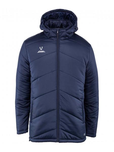 Куртка утеплённая Jögel JPJ-4500-091, полиэстер, темно-синий/белый