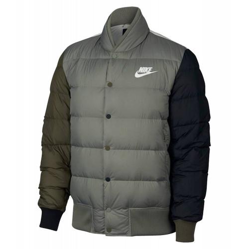 Пуховик Nike Nsw Down Fill Bombr, серый