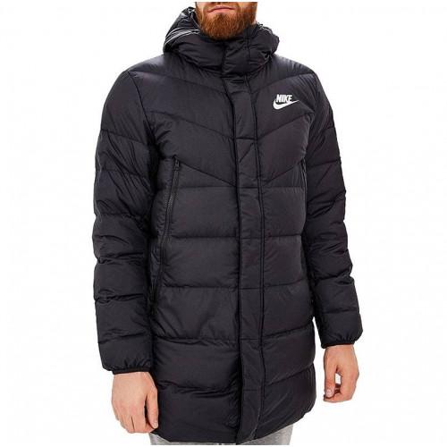 Пуховик Nike Sportswear Down Fill Windruner Parka HD RUS, черный