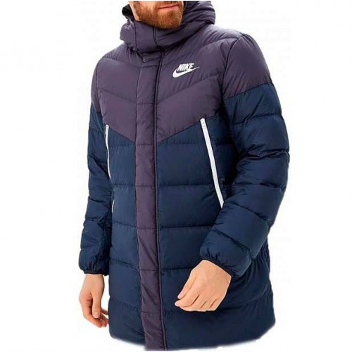 Пуховик Nike Sportswear Down Fill Windruner Parka HD RUS, синий