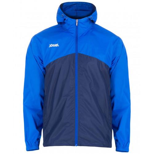 Куртка ветрозащитная Jögel JSJ-2601-971, полиэстер, темно-синий/синий/белый