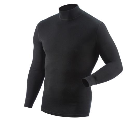 Джемпер утеплённый шерстяной Outdoor Heavy, черный