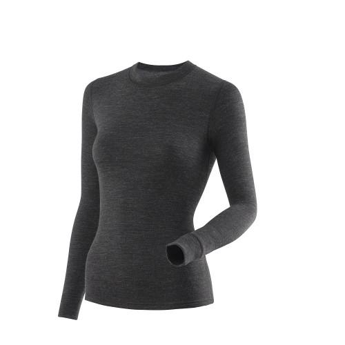 Фуфайка женская тёплая L21-2011S/DGY, темно-серый
