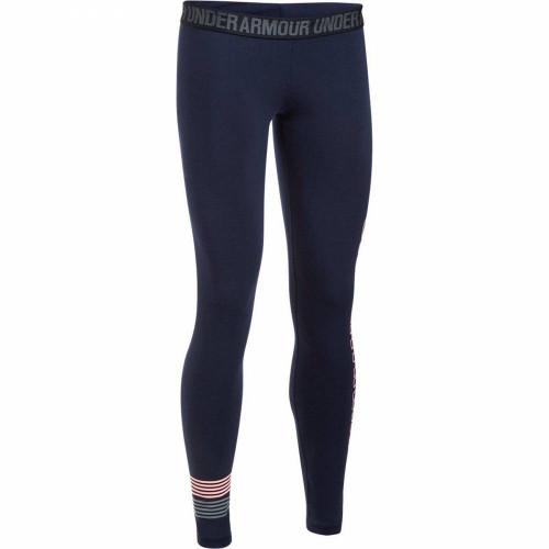 Термотайтсы Under Armour Favorite Legging (женские), темно-синий