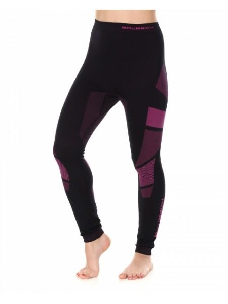 Кальсоны женские Brubeck DRY черно-фиолетовый